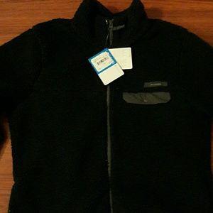 Women's Columbia Black Fleece Jacket